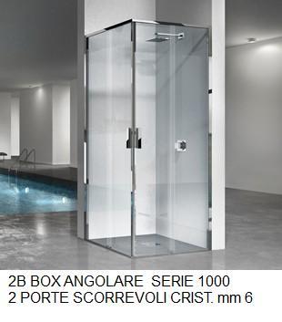 2b Box Doccia Serie 1000.Box Doccia 2b Sap Ceramiche